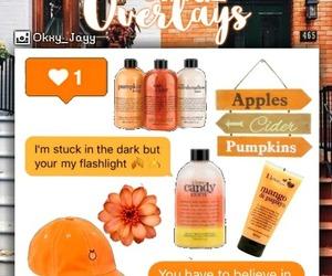 edit, orange, and premades image