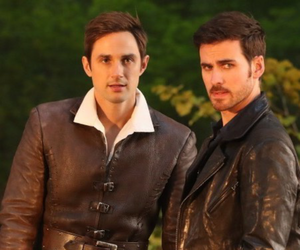 once upon a time, captain hook, and season 7 image