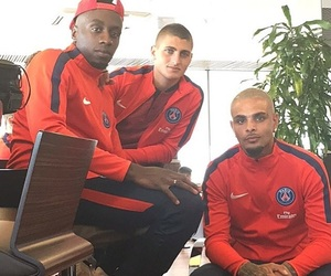 football, psg, and blaise matuidi image