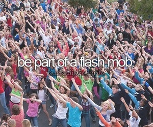 before i die, flashmob, and bucket list image