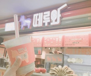 korea, pink, and aesthetic image