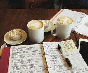 motivation, coffee, and notes image