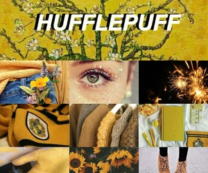 flowers, harry potter, and hufflepuff image