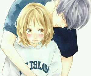 anime, manga, and couple image