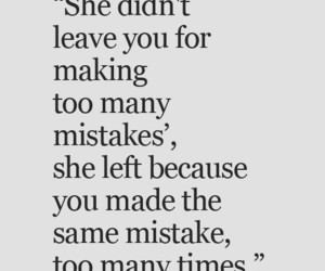 mistakes, quotes, and leave image