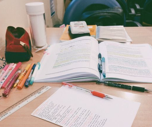 study, studying, and book image