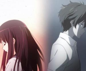 hyouka, anime, and chitanda image
