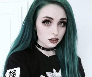 dark, goth, and makeup image