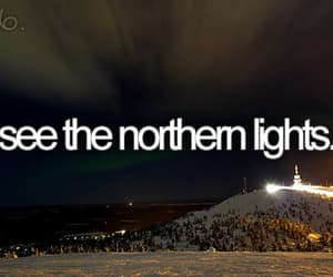 northern lights, light, and before i die image