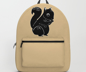 accessories, backpack, and cream image