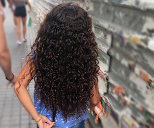 child, curly, and curly hair image