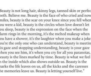 beauty, positivity, and quotes image