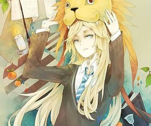 harry potter, luna lovegood, and anime image
