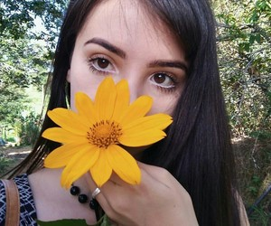 alternative, flower, and girl image