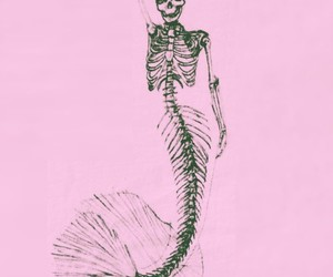 mermaid, art, and drawing image