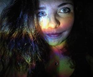 blue, eyes, and face image