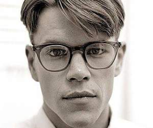 beautiful, glasses, and men image