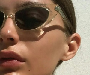 girl, sunglasses, and aesthetic image
