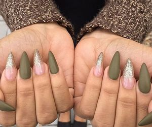 nails, nail designs, and nail polish image
