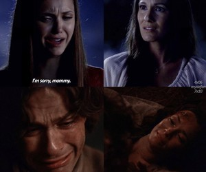 elena, sorry, and tvd image
