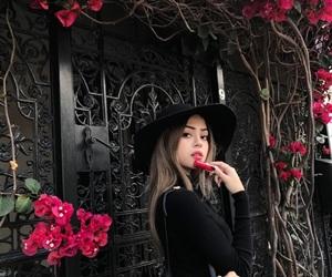 black, model, and lilymaymac image