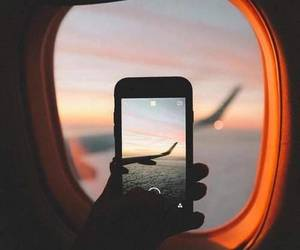 airplane, photography, and beautiful image