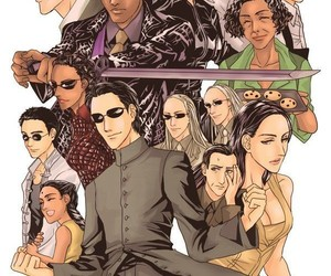 Neo, The Matrix, and trinity image
