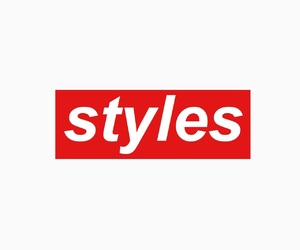 styles, supreme, and onedirection image