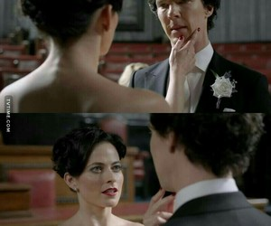 sherlock, sherlock holmes, and the lady image
