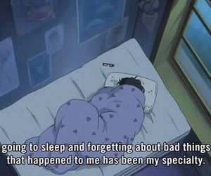 sleep, anime, and quotes image
