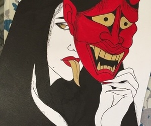 art, Devil, and grunge image