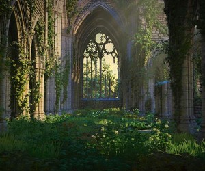 fantasy, castle, and gothic image