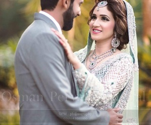 couple, love, and dulhan image