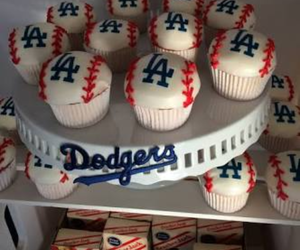 cupcakes, beisbol, and cupcakes béisbol image