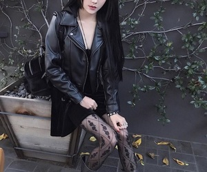 asian, goth, and kina shen image
