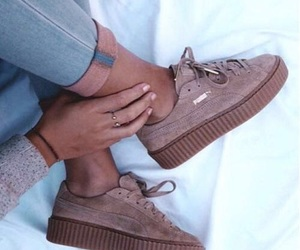 brown, girls, and shoes image