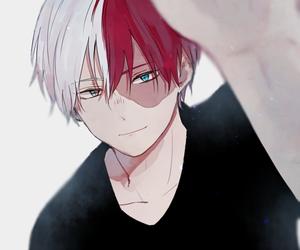 boku no hero academia, todoroki shouto, and anime image