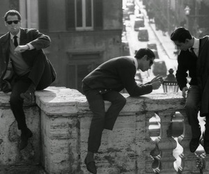italy, vintage, and bruno barbey image