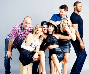 arrow, emily bett rickards, and willa holland image