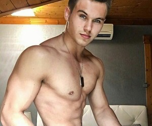 boy, bodybuilding, and hungarian image