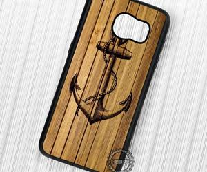 anchor, wood, and phone cases image
