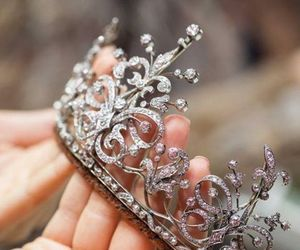 crown, beautiful, and tiara image