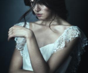 dress, dark, and Darkness image
