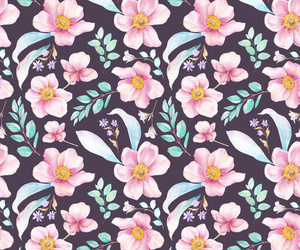 colors, flowers, and patterns image