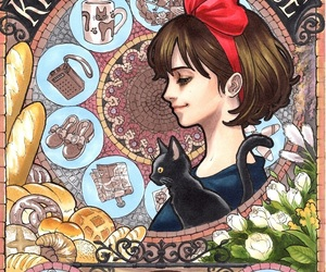 kiki, kiki's delivery service, and anime image