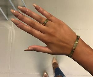 fashion, rings, and hands image