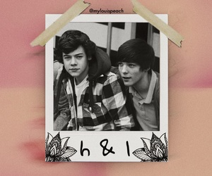 aesthetic, pink, and larry image