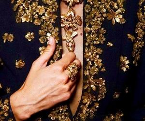 Valentino, fashion, and gold image
