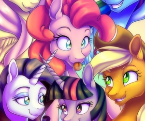 MLP, my, and my little pony image