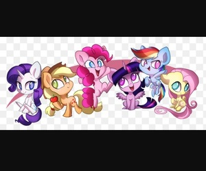 colored, MLP, and my little pony image